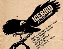 "Icebird ""Alcohawk"" Rock Concert Poster"
