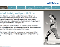 Ottobock OTS Product Selection Tool