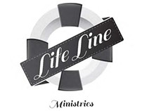 "Logo  for Timberline Church's ""Life Line"" Ministrie"