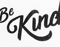 Be Kind sketch