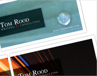 Tom Rood - Business Card and Website Rebrand