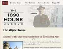 1890 House Museum, Joomla Project