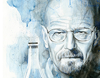 Illustration - Breaking Bad - Heisenberg