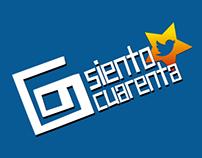 SIENTO CUARENTA (Campaña Social Media)