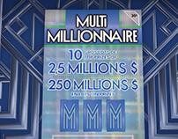 Loto-Québec - Multimillionnaire
