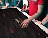 Multitouch table - Bolero Restaurant
