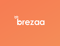 Brezaa (App UI, Landing page)