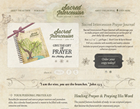 Sacred Intercession Prayer Journal & Website