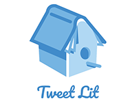 Tweet Lit logo for a literary website