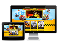 Mattel : Matchbox - Big Boots Responsive Website