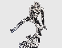 Kamen rider Vs BMX