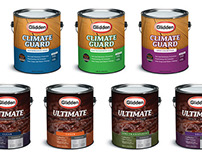 Glidden Concept Labels for the Home Depot