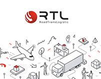 """Презентация для логистической компании """"RTL"""""""