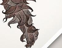 Moey The Mo-Monster - Illustration