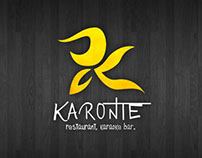 Karonte Bar Logo Project.