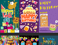 Birthday & Anniversary Greetings Animated