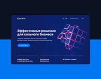 Quarta / web design