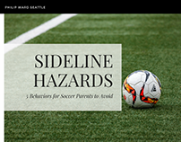 Sideline Hazard: 5 Behaviors Soccer Parents Must Avoid
