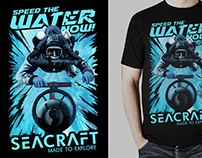 T-shirt design for SEACRAFT DPV