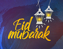 Social Media Banner Design of Eid For SVF