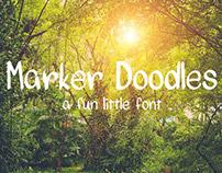 Marker Doodles Font