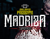 MADRIZA - TYPEFACE
