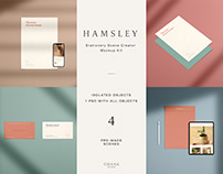 Hamsley: Stationery Mockup Kit