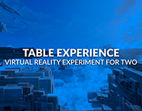Table Experience - Virtual Reality Installation for Two
