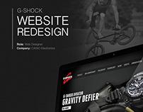 Casio G-Shock Website