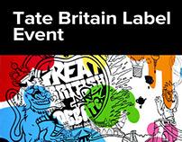Tate Britain Label Event