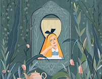 Alice's adventures in wonderland | Personal work
