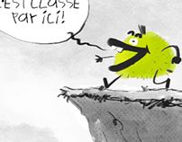 Digital comic