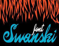 Swanski - font