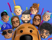 711 Media - 3D Team Avatars