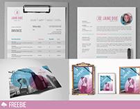 Fuchsia: FREE Branding Template Pack