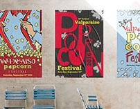 Valparaiso Popcorn Festival | Poster Design