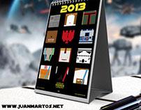 Calendario Star Wars 2013