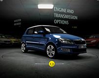 Škoda Fabia Range Microsite