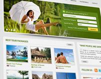 Ebenezer Holidays - Landing page Design