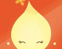 .Onion Girl & Cabbage Boy - Children's Book.