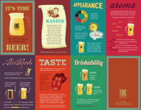 Know your Beer! (foldable pocket-sized infographic)