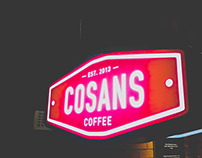 【 Cosans Coffee x Artist x tote bag x mug design  】