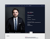 Setterwalls Lawfirm Website