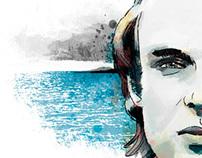 Brian Eno portait