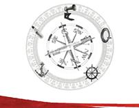 Helmscape Stationary & Web Design