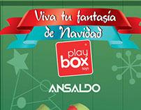 Ansaldo Playbox Navidad