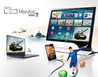 HDTV LED MONITOR SERIE 7