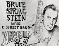 Bruce Springsteen Poster/ Honda Center • DEC. 4th