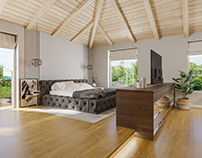 Attic Bedroom, Madrid, Spain