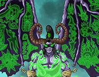 Fan Art - WoW Illidan Stormrage